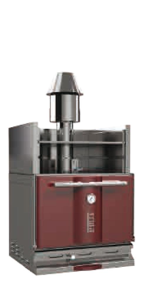 De KOPA Houtskooloven 300OC Model